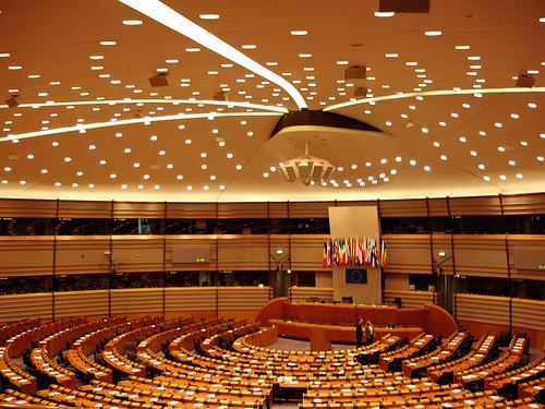 euro parliament interior
